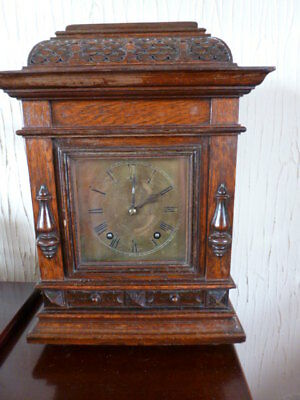 Good German ting tang bracket clock by W&H SCH spares / repair