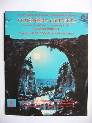 MIDDLE EARTH CAMPAIGN & ADVENTURE GUIDEBOOK, MERP, ROLEMASTER, I.C.E., no map