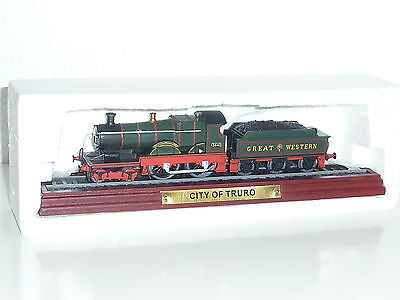 City of Truro Lokomotive Standmodell 1:100 ! Neu & OVP ! Atlas Verlag Lok