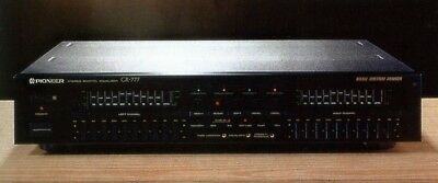 pioneer graphic equalizer GR-777