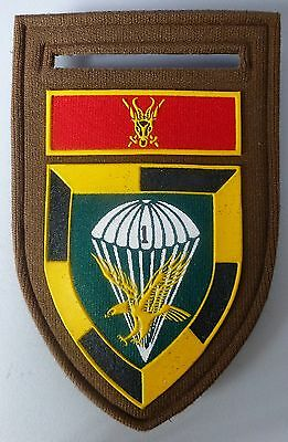 1 PARACHUTE BATTALION SOUTH AFRICA pre 1988 AIRBORNE PARA PATCH SWA BORDER WAR