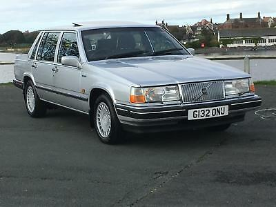 1989 Volvo 760 Gle Auto Saloon. Genuine 61,000 Miles From New!  Outstanding!