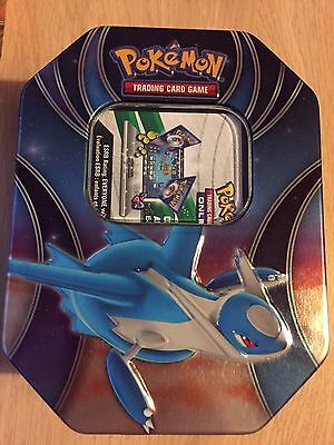 MINT Latios Powers Beyond Tin (empty) & Online Code - Pokemon Trading Card