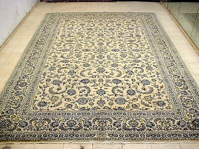 10X13 One In Million Masterpiece 200Kpsi Mint Hq Kork Asgari Kashan Persian Rug