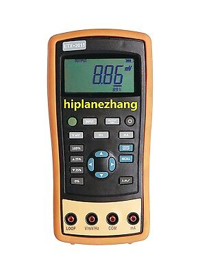 Hi-accuracy 0.02% Current & Voltage Process Calibrator with Frequency Source