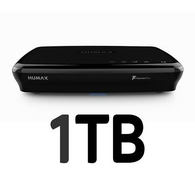 Humax FVP-5000T 1TB 1000GB HD Freeview Play HDD Recorder WiFi 2 Year Warranty