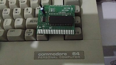 Cartuccia Fastload Epyx Commodore 64 128 Sd2Iec Disk Turbo  + Reset Button 1541