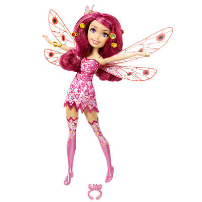Mia And Me Mia Fairy Fashion Doll Poseable Wings Collectible Girls Toy