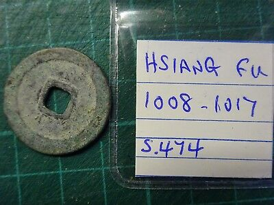 CHINESE 1008 - 1017 Hsiang Fu Dynasty Original Coin