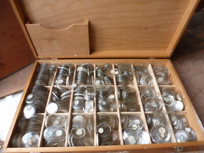 100s of pocket watch - watch - clock glasses all old & cased