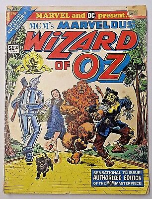 MGM'S MARVELOUS WIZARD OF OZ GIANT COMIC BOOK Vintage 1975 No. 1 Comic Book