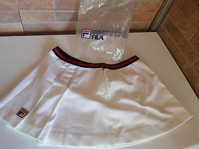 "Gonna Tennis Fila Vintage '80 Tg 48"" Nuova """