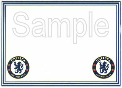 12 Premiership blank Crested cards