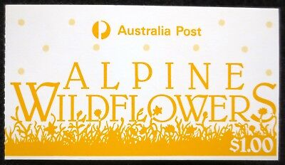 Australia - 1986 - Wild Flowers - SG SB 56 - Complete Booklet - Cancelled Mint