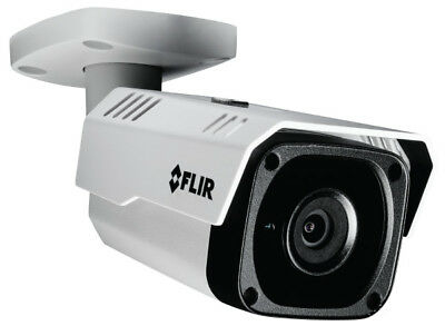 FLIR Security N243BW2 Fixed IP Bullet Camera, 2.1MP HD @ 25/30FPS