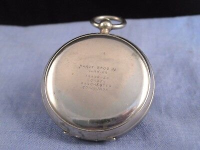 HARDY ANTIQUE POCKET WATCH DRIANOIL FLY FLIES DRIER CASE BOX VINTAGE FISHING 20s