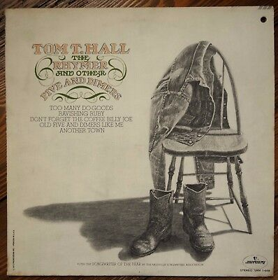 Tom T. Hall - The Rhymer and Other Five and Dimers (1973 LP. SRM 1668)