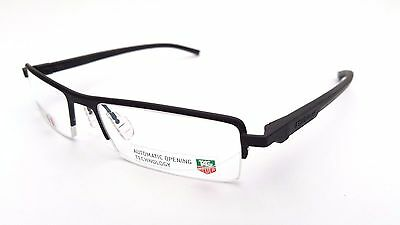 Tag Heuer Black Automatic Frames Glasses 100% Authentic Model 0822 001 Bnib # 00
