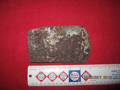 "6 1/4"" Military Fort Site Forged Iron Axe Head ( Fort Custer, Montana )"