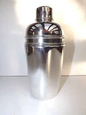Art Deco Silver Plated Baker Brothers Jumbo Cocktail Shaker