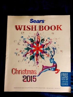 Sears Christmas Wish Book 2015 New