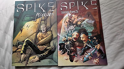 SPIKE: ASYLUM and SPIKE: SHADOW PUPPETS TPBs Buffy the Vampire Slayer Angel