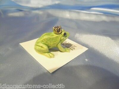 Hagen Renaker Frog Prince Figurine Miniature 344 FREE SHIPPING NEW