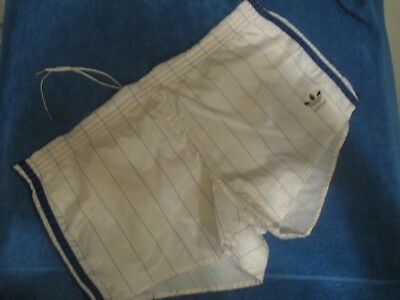 SHORT ADIDAS VINTAGE NYLON TREFOIL 80's MADE IN WEST GERMANY