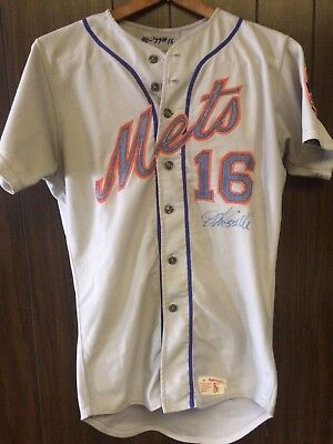 Lee Mazzilli Game Worn/used 1977 Rookie Mets Jersey Autographed All Original