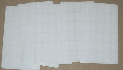 2070 Blank Garage Yard Sale Rummage Stickers Price Labels White @@my Other Items