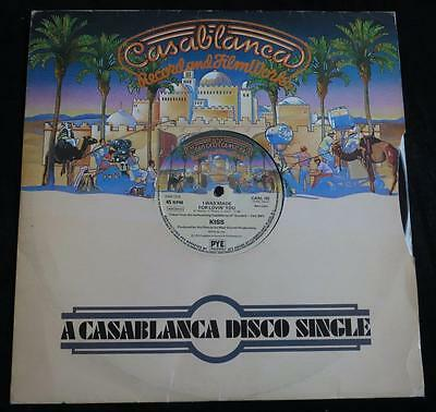 "KISS - I Was Made For Lovin' You c/w Charisma - UK Casablanca Orig 12"" EP 1979"
