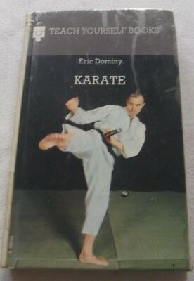 A Vintage Karate Book By Eric Dominy
