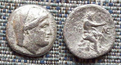 Greek Coin: BYZANTION, Thrace silver 9 obols, 240-220BC