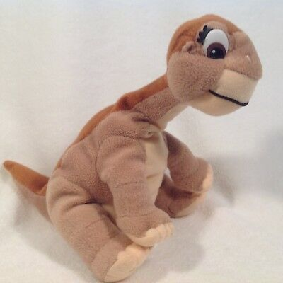 "The Land Before Time Plush Little Foot 9"" X 9"" Vintage Equity 1996"