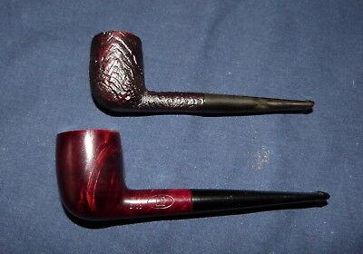 2 x Dunhill pipes, shape 1103 + 2103  estate