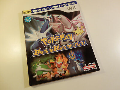 "Original Nintendo Wii Spieleberater ""Pokémon Battle Revolution"""