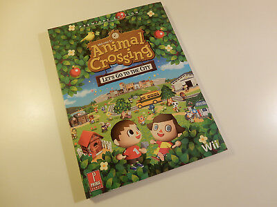 "Original Nintendo Wii Spieleberater ""Animal Crossing Let's Go To The City"""