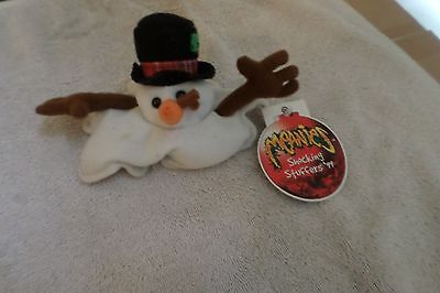 Meanies Shocking Stuffers 99 Sluchy The Snowman  Number Figure
