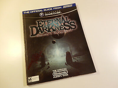 "Original Nintendo GameCube Spieleberater ""Eternal Darkness Sanity's Requiem"""