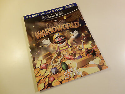 "Original Nintendo GameCube Spieleberater ""Wario World"""