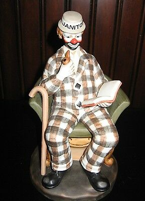 Flambro Circus World Museum Clown Alley Paul Jerome Hobo Make-up Famous American