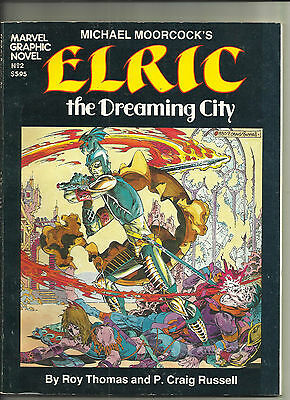 Elric the Dreaming City, Michael Moorcock