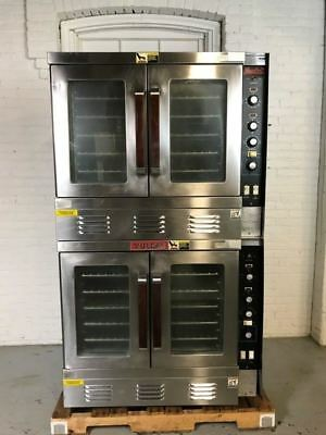 Vulcan Snorkel SGH22 Double Stack Convection Oven/Natural Gas/115v FREE SHIPPING