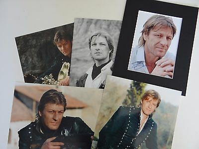 Sean Bean Sharpe 5 x photos 8 x 10 ins TV series Napoleonic wars