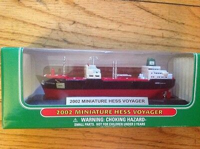 2002 Miniature Hess Voyager