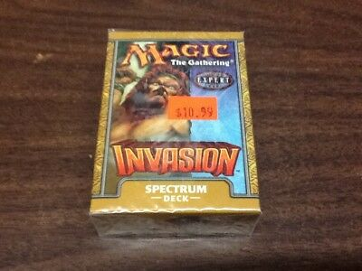 Magic The Gathering Invasion Spectrum Deck Expert Level Pack New Sealed