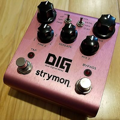 STRYMON DIG Dual Digital Delay INTERNATIONAL SHIPPING