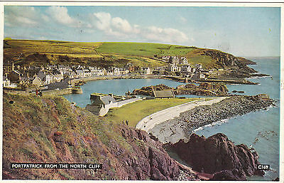 View From The North Cliff, PORTPATRICK, Wigtownshire