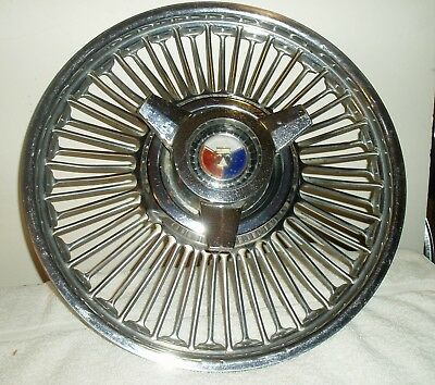 Vintage 1963 - 1964  Ford Galaxie 500 Wire Wheel Spinner Hubcap