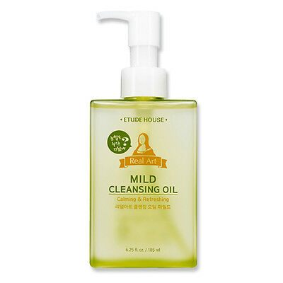 [ETUDE HOUSE] NEW Real Art Mild Cleansing Oil 185ml  - BEST Korea Cosmetic